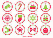 Christmas Vector Stamps