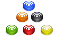 6 Free Rss Feed Vector Icons