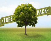 Arbres vecteur Collection Pack