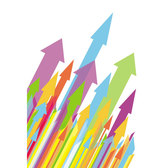 COLORFUL ARROWS VECTOR GRAPHIC.eps