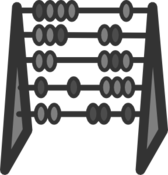 Count bead chart