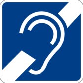 hearing impairment sign