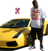 "HQ"" Gucci Mane (Next To Lambo) PSD"