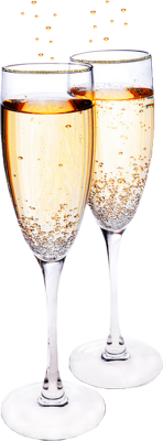 Champagne Toast PSD