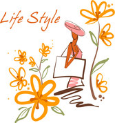 Free vector about beautiful handpainted fashion