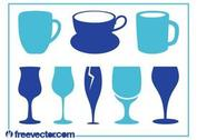 Cups And Glasses Set