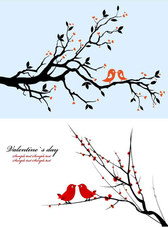 Branches On A Pair Of Birds