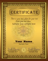 Gorgeous Diploma Certificate Template 03
