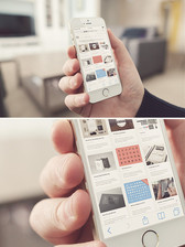 Salon iPhone 5S MockUp