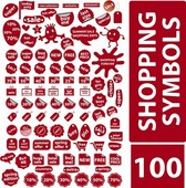 100 Free Vector Shopping Symbols