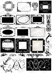 Accommodates Frame Lace Vector Graphic-3