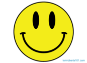 Acid Smiley Face Vector Free