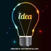 COLORFUL BULB VECTOR.ai
