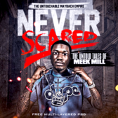 Meek Mill - Never Scared [Multi-Layered PSD] PSD