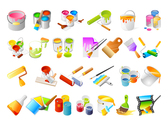 Coatings And Tools For Vector Graphic Whitewashers
