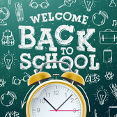 Back to school background graphics vector 03