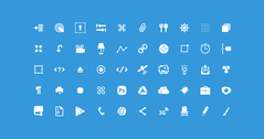 Glyphe 50 Icon Set