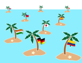 Islands: many islands and many languages