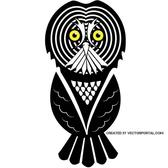 VECTOR IMAGE OF AN OWL.eps