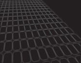 Grey on Black Grate Abstract