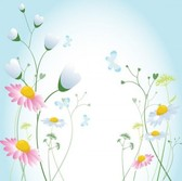 Flowers vector design illustration