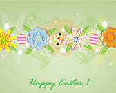 Sweet Easter Card Design