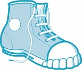 Clothing Blue Boot