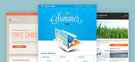 Newsletter PSD Template Set 1