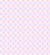 Hand Drawn Outline Petal Free Seamless Vector Pattern