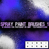 PS Brush Spraying High-Definition
