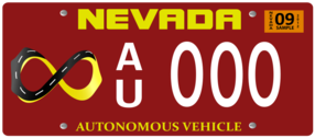 Vehicle Registration Plate With Screws