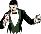 Card Trick Colorized