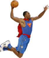 Dwight Howard (Superman) PSD