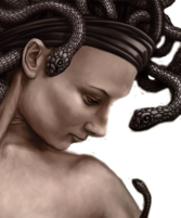 Medusa Greek Mythology PSD