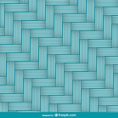 Chevron braid pattern