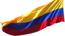 flag (COLOMBIA) PSD