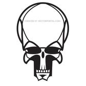 VECTOR IMAGE OF A SKULL.eps