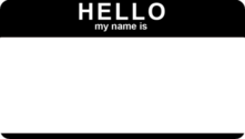 HELLO...my name is PSD