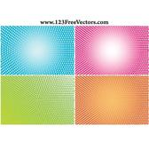 HALFTONE BACKGROUNDS VECTOR COLLECTION.eps