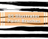 85 Illustrator Paint Brushes