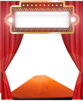 A Stage Template PSD