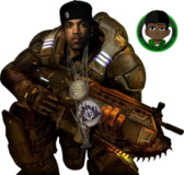 Lloyd Banks Gear Of War Manip PSD