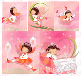 Dandelion Theme (Korea iClickart Four Seasons cute girl albu