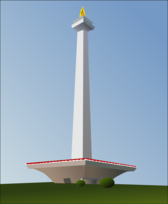 Indonesia National Monument (Monas)