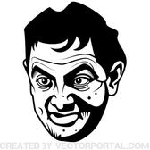 MR. BEAN VECTOR GRAPHICS.eps