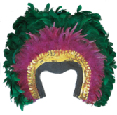 Mardi Gras Headpiece PSD