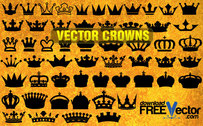 55 Vector Crowns