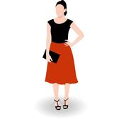 BUSINESS WOMAN VECTOR CLIP ART.eps