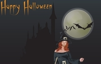 Halloween witch free