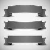 GRAY BANNERS VECTOR PACK.eps